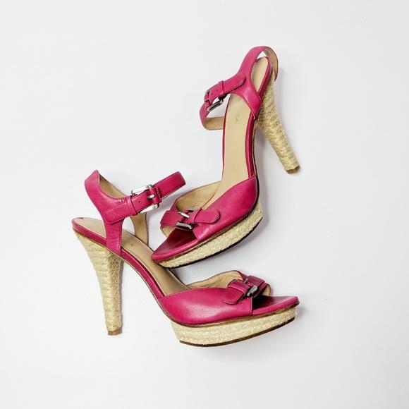 f38499e57d68 ... sandal pink leather heels. M 5a555b3a3afbbdc15906ecf7